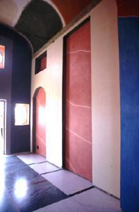 left wall